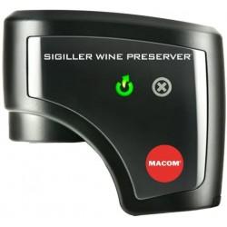 Automatická vakuová zátka na víno Macom Sigiller 951, černá
