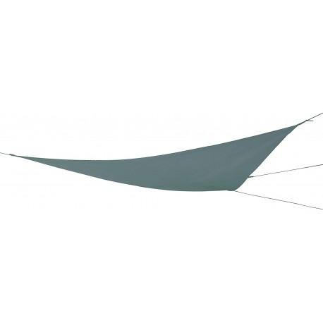 Plachta proti slunci Rewe 415x415x415cm, šedá