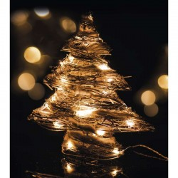 EMOS 30LED XMAS RATTAN TREE IP20 WW (ZY1418)