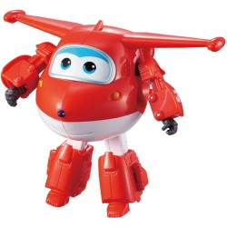 Letadýlko Transformer Jett Super Wings - červená