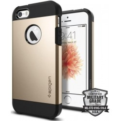 Ochranný kryt na mobil Iphone 6S/6 - Spigen Tough Armor, Rose Gold