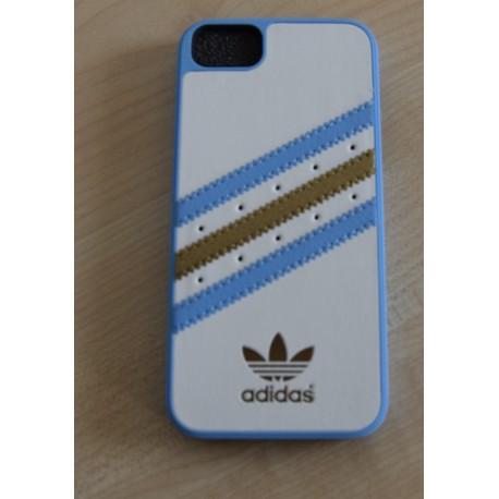 Ochranný kryt pro Apple iPhone 5/5S, Adidas bílá - modrá