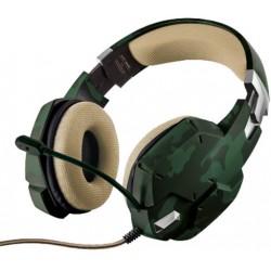 Herní sluchátka Trust Carus GXT 322C 22207, jungle camo