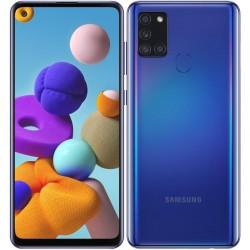 Mobilní telefon Samsung Galaxy A21s, 32GB, Dual SIM - Modrá